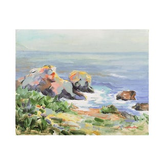 Carmel Coast by Margaret Steitz, C. 1975 For Sale