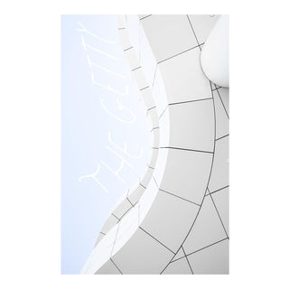 """Getty Center Detail"" Original Framed Photograph"