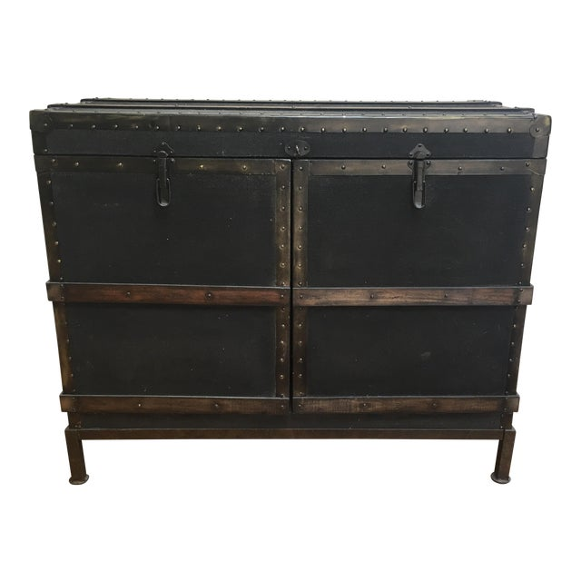 Dry Bar Trunk Cabinet - Image 1 of 5