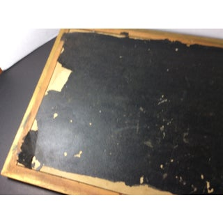 Antique Wood and Glass Serving Tray Preview