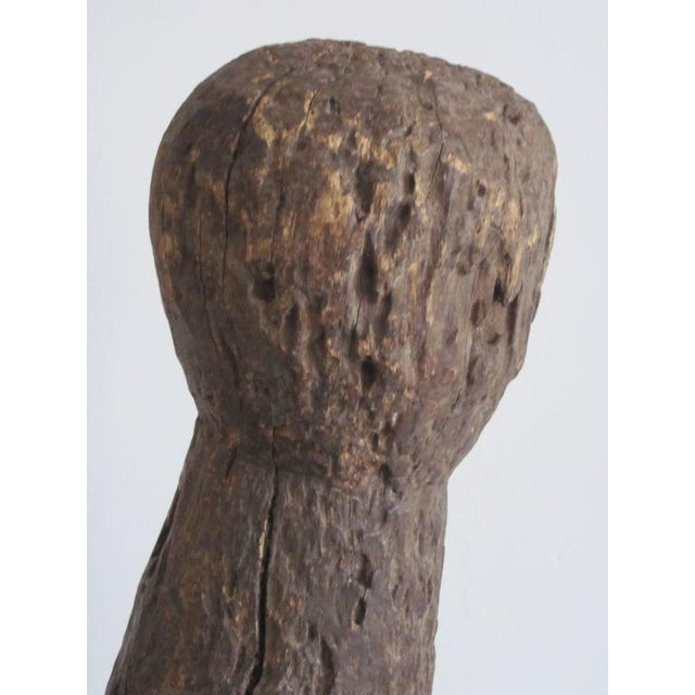 Carved Aftican Wood Sculpture from Togo For Sale In New York - Image 6 of 8