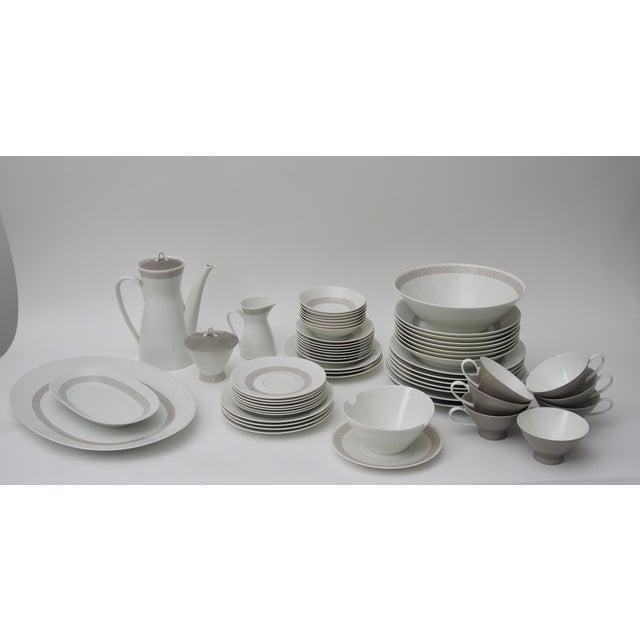 Rosenthal Greek Key Athenian China Set - 63 pieces For Sale - Image 12 of 12