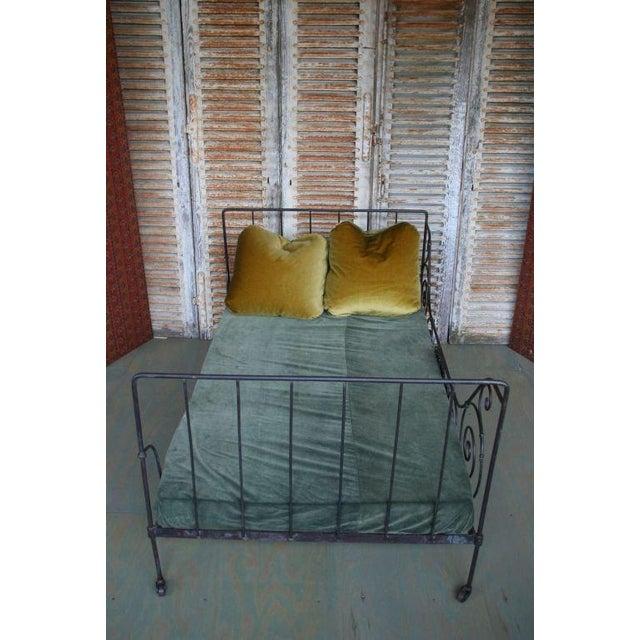 Folding Iron Bed - Image 7 of 9