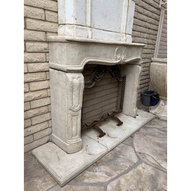 2010s Modern Dennis and Leen Fireplace Mantel For Sale - Image 5 of 12