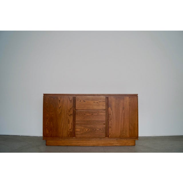 1940s Danish Modern Refinished Sideboard For Sale - Image 13 of 13