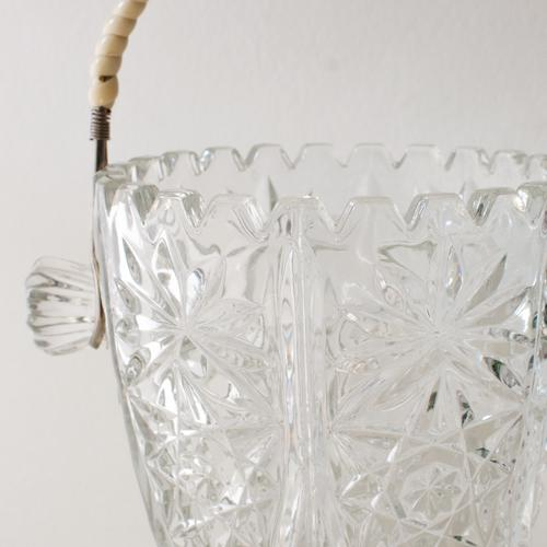 Crystal Ice Bucket With Wrapped Handle - Image 4 of 4