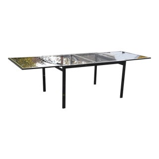 DIA Metallic Expandable Dining Table For Sale