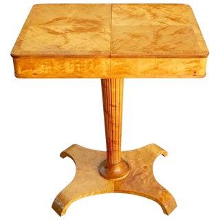 1940s Swedish Art Moderne Side Table For Sale