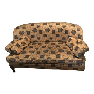 Berkeley Home Collection Asian Print Sofa For Sale