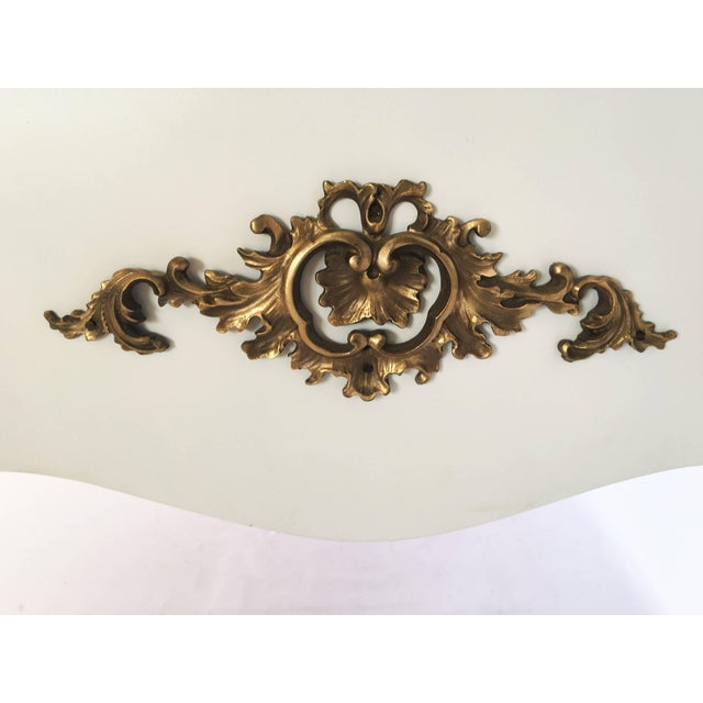 Louis XV Style Lacquered and Gilt Bronze-Mounted Bureau Plat For Sale - Image 9 of 11
