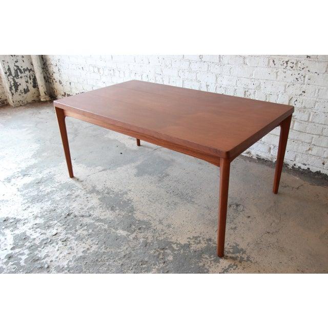 Henning Kjaernulf for Vejle Stole Danish Modern Teak Extension Dining Table - Image 6 of 10