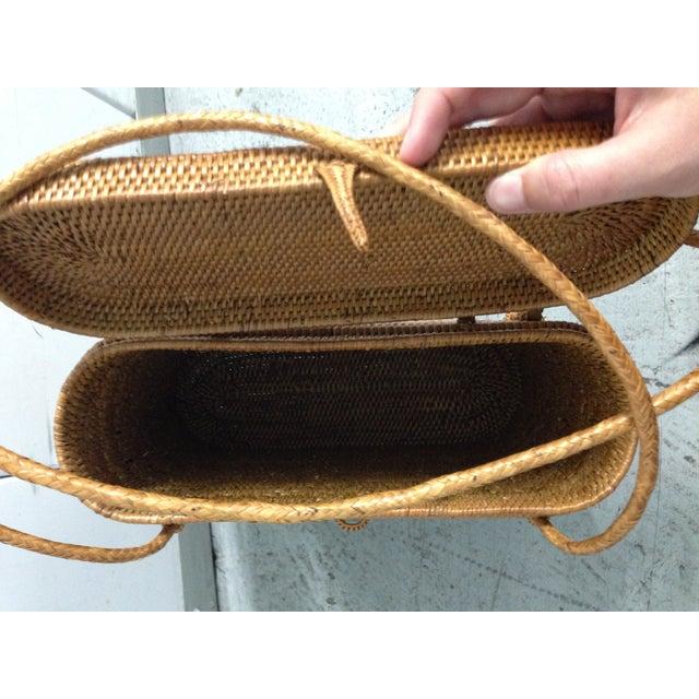 Vintage Woven Basket Purse - Image 5 of 5