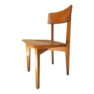 Vintage Mid-Century Gunlocke Chair Co. Side Chair For Sale