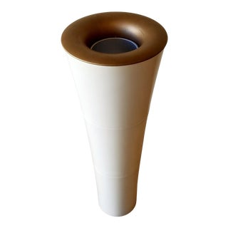 1970s Kayoi Molded Plastic Cone Floor Lamp For Sale