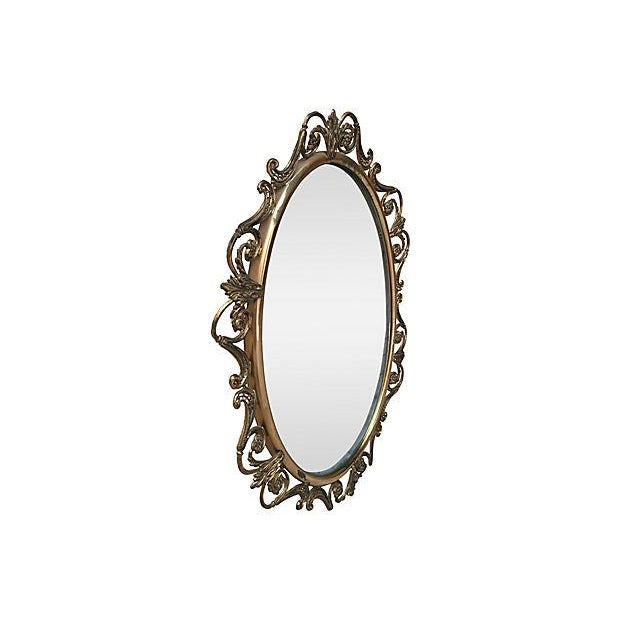 Brass Convex Mirror - Image 5 of 8