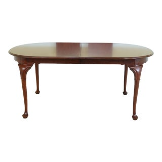 Henkel Harris Model 2205 Cherry Dining Room Table For Sale