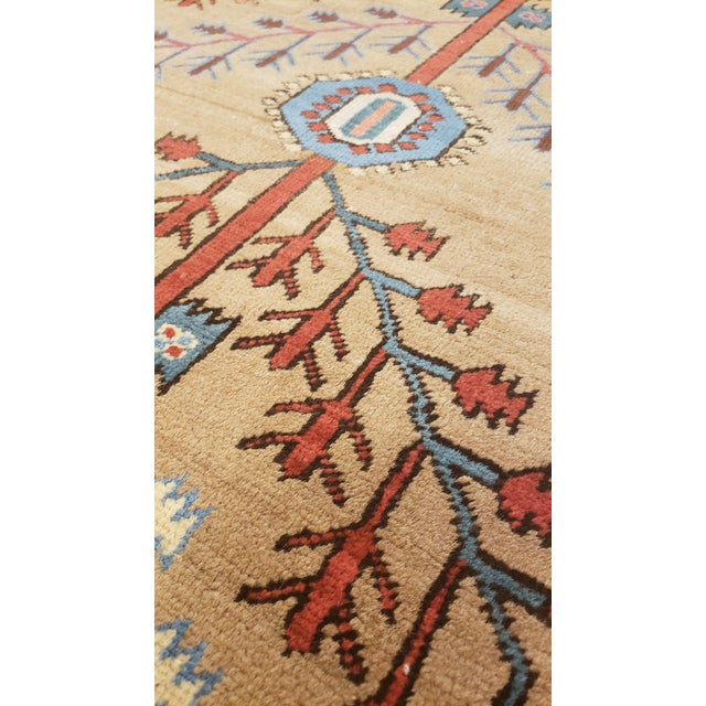 """Antique Serapi Bakhshayesh Rug-4'6x6'6"""" For Sale In New York - Image 6 of 12"""