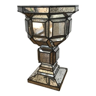 1990s Moravian Style Illuminated Pedestal For Sale