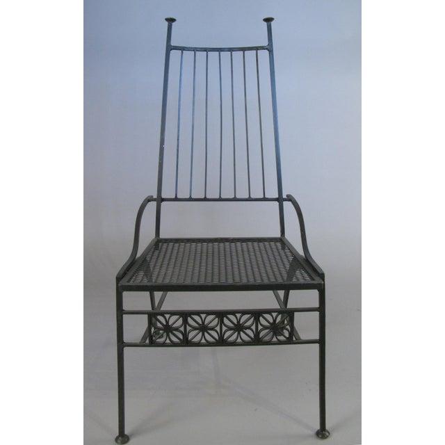 Metal Set of Ten Rare Salterini El Prado Chairs For Sale - Image 7 of 13
