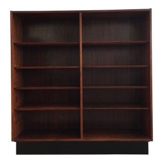 1960s Danish Modern Bookcase For Sale