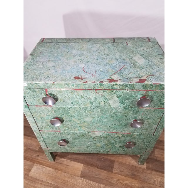 This Modern and Sleek Dresser is believed to be inspired by Norman Bel Geddes for the Simmons Furniture Company. It is...