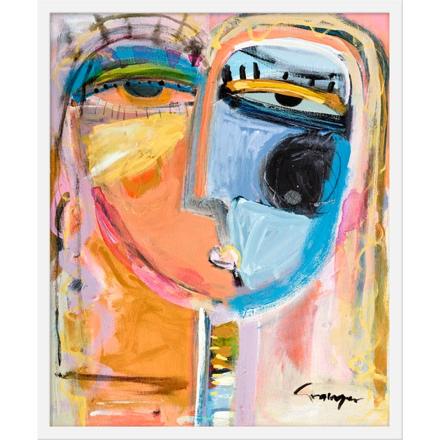 """Contemporary Medium """"Rosalita"""" Print by Lesley Grainger, 24"""" X 29"""" For Sale - Image 3 of 3"""