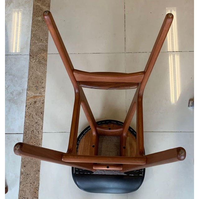 Eric Buch Danish Modern Stools - A Pair For Sale In Tampa - Image 6 of 13
