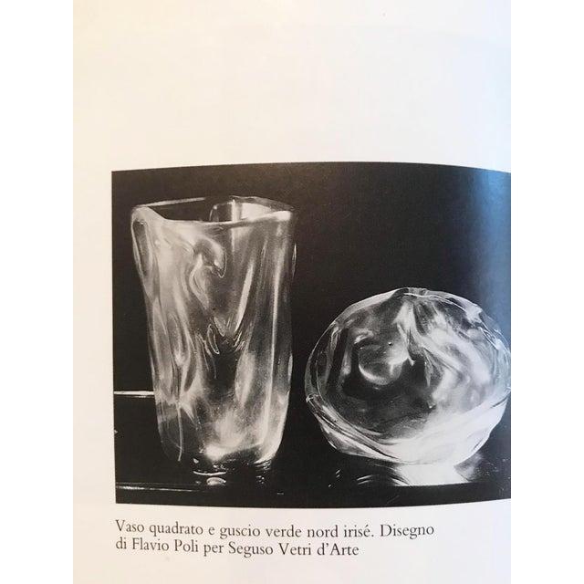 1930s Flavio Poli Square Vase North Irisè, Design by Flavio Poli for Seguso Vetri d'Arte For Sale - Image 5 of 7