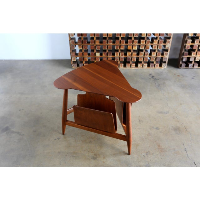 Mid Century Edward Wormley Model 5313 Magazine Table For Sale - Image 10 of 13