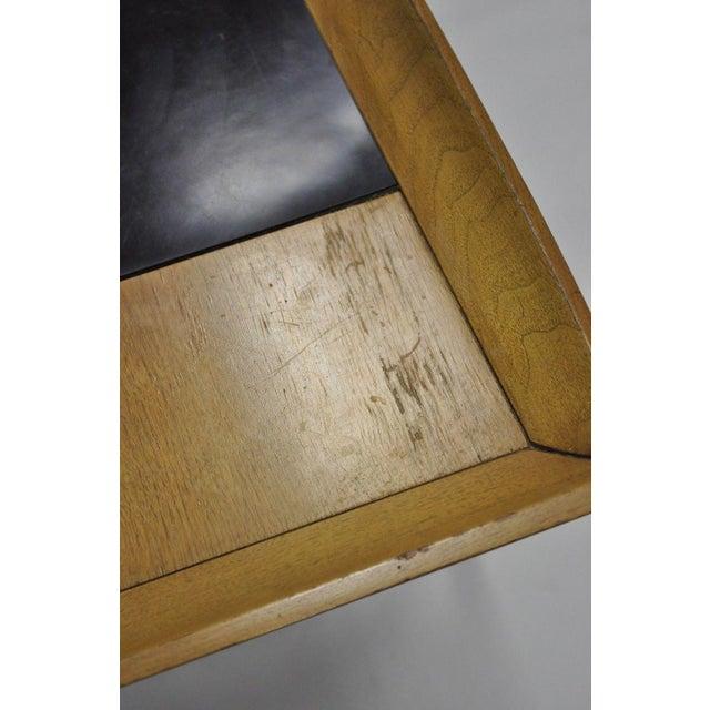 Mid 20th Century John Keal Brown Saltman Mid-Century Danish Modern Sculptural Walnut Side Table For Sale - Image 5 of 12