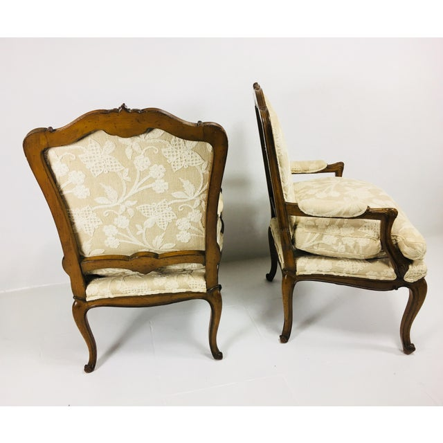 Mid Century Meijer Gunther Martini French Country Style Chairs - a Pair For Sale - Image 10 of 13