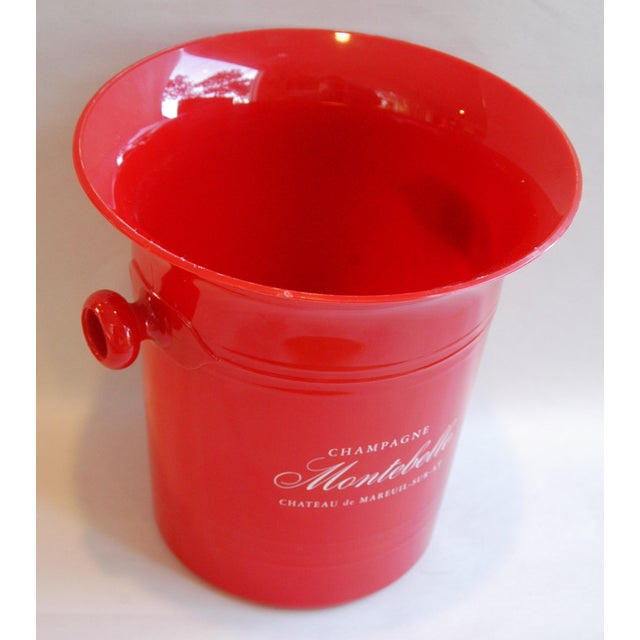 French Vintage French Montebello Ice Bucket For Sale - Image 3 of 7