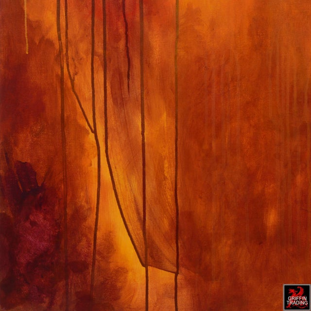 2010s Luminous Sea Abstract Painting For Sale - Image 5 of 7