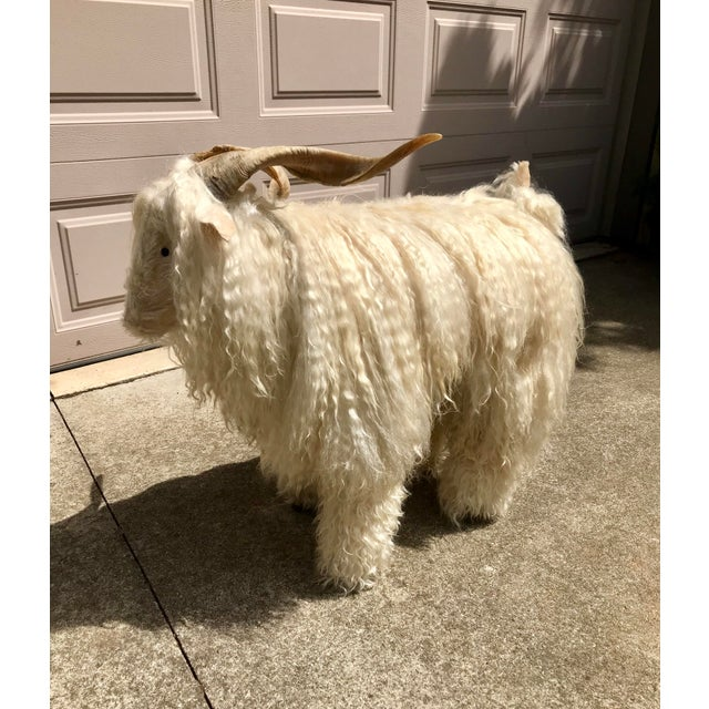 Wood 1960s Vintage Claude Lalanne Style Figural Sheep Sculpture / Stool For Sale - Image 7 of 10
