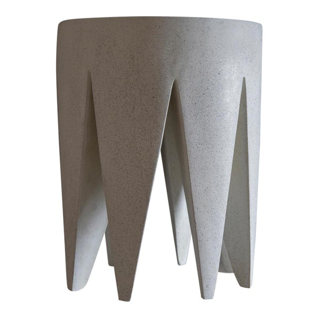The King Me stool in our Aged Stone finish. The texture and modern look of concrete make it appropriate for a wide variety...