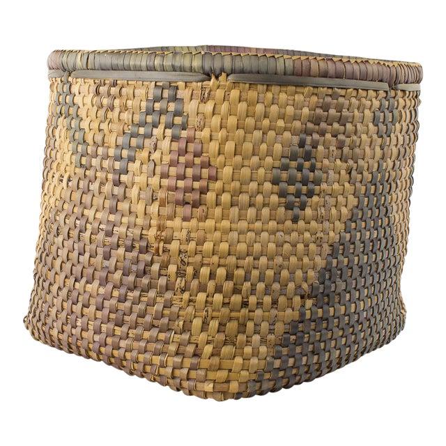 Vintage Tribal Basket For Sale