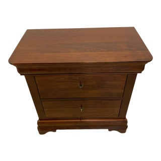 French European Rustic Nightstand For Sale