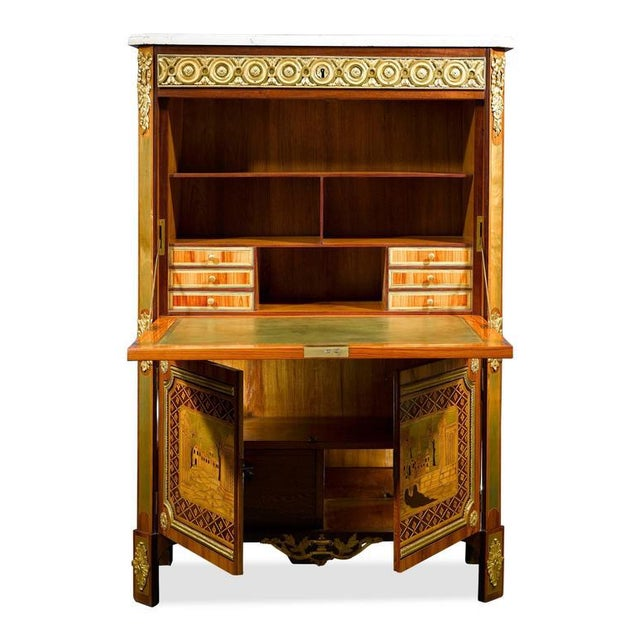 Ornate Secretary by André Gilbert For Sale In New Orleans - Image 6 of 10