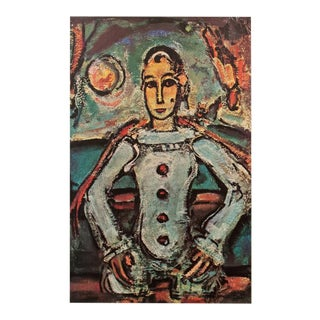 "1947 Georges Rouault, First Edition Period Lithograph ""Pierrot Aristocrate"" For Sale"