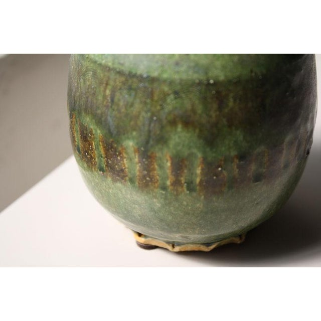 Small Green Ceramic Pot - Image 6 of 6