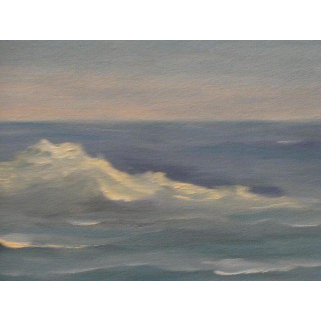 Mid Century Ocean Scene Painting - Image 6 of 10