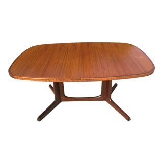 1960s Mid-Century Modern Niels O Moller for Gudme Mobelfabrik Dining Table For Sale