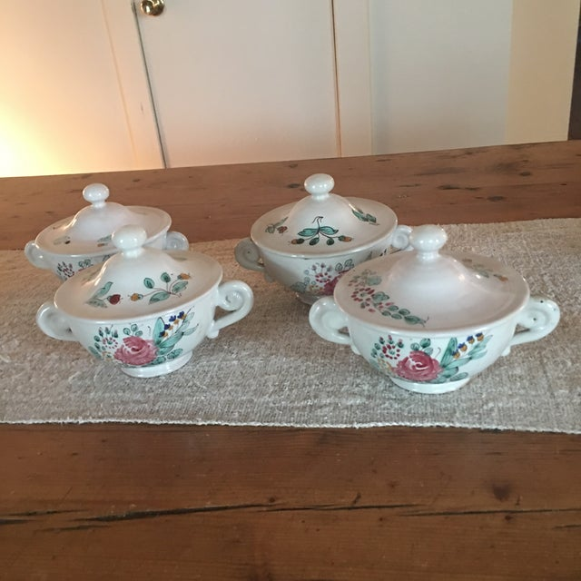 Antique Deruta Italy Pottery Dinnerware Set - 34 Pieces For Sale - Image 9 of 13