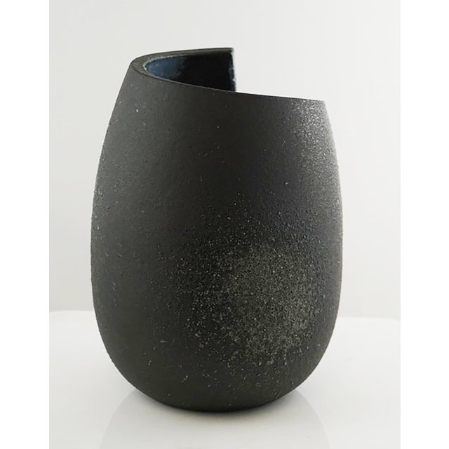 Japanese Japanese Black Vessel For Sale - Image 3 of 5