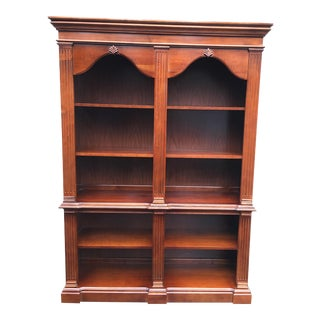 Broyhill Cherry Wood Bookcases
