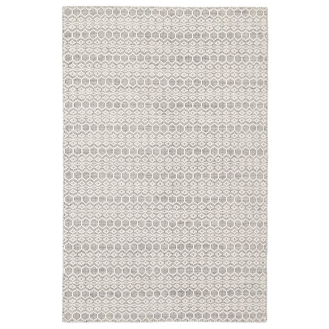 Jaipur Living Calliope Handmade Trellis White/ Gray Area Rug - 8′9″ × 12′ For Sale In Atlanta - Image 6 of 6