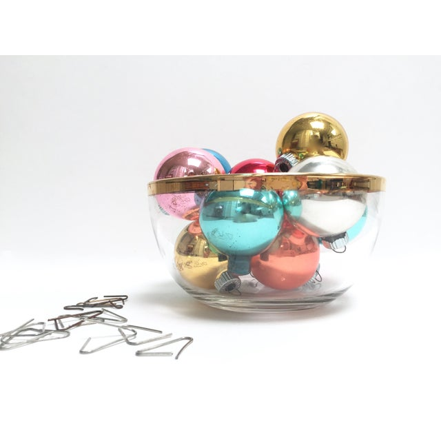 Vintage Shiny Brite Glass Ornaments - Image 8 of 8