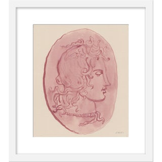 "Small ""Medusa Pink Coin"" Print by Michelle Farro, 17"" X 19"" For Sale"