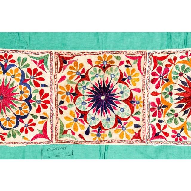 Large Vintage Dowry Textile, Gujarat India - Image 2 of 5