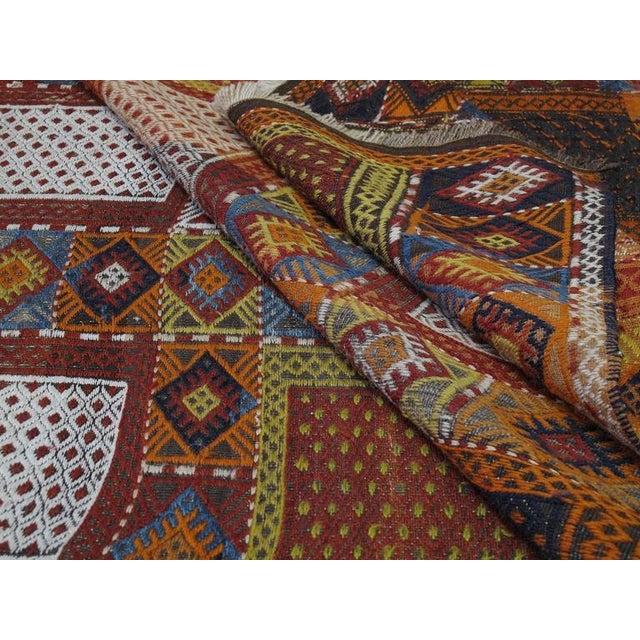 "Southeast Anatolian ""Jijim,"" Long Rug For Sale - Image 9 of 9"